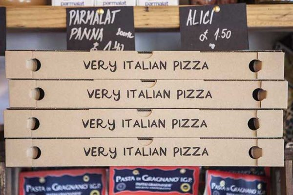 VIP pizza best instagram Brighton Restaurant awards BRAVO
