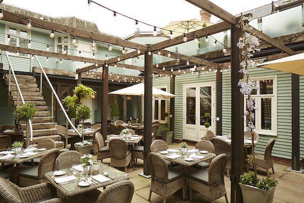 Bistro Du Vin, Hotel Du Vin, Brighton - Alfresco Brighton