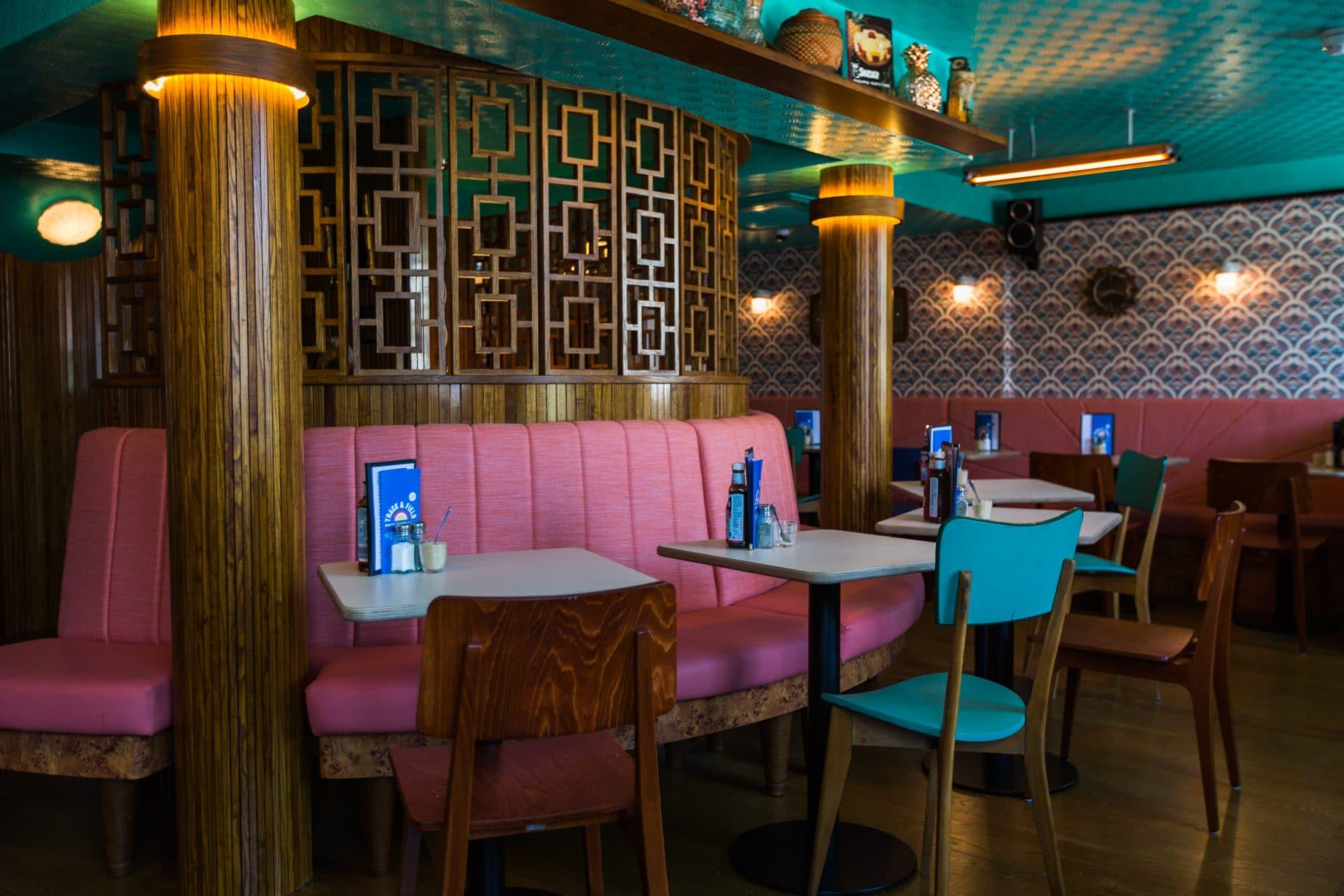 Interior at The Breakfast Club in Brighton