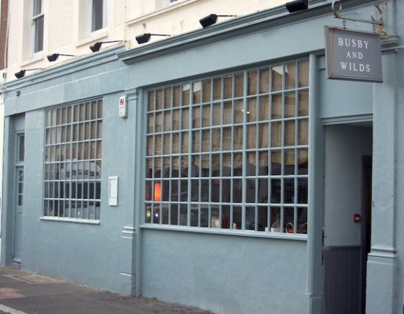 Busby and Wilds Exterior, Brighton pub, Kemptown