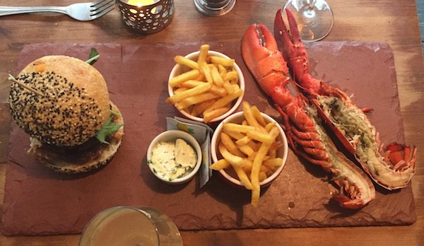 Grow 40, bistro, Kensington gardens, North Laine, burger and lobster