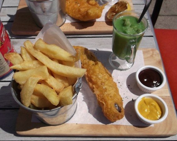 Fish and Liquor, Fish and Chips, Brighton Seafront, chippie
