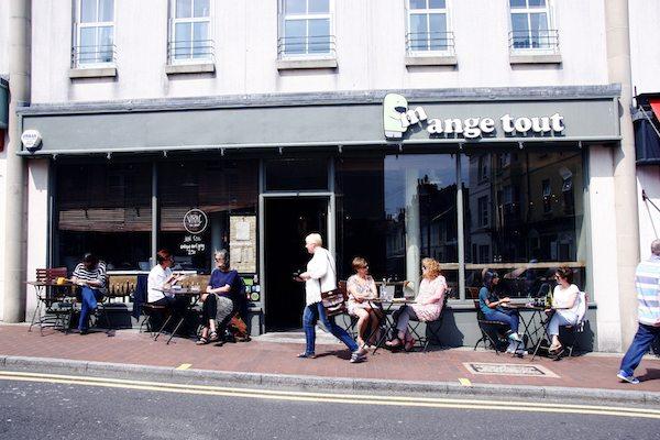 Mange Tout, french bistro, Trafalgar Street, North Laine, Brighton - Best Brunch Brighton