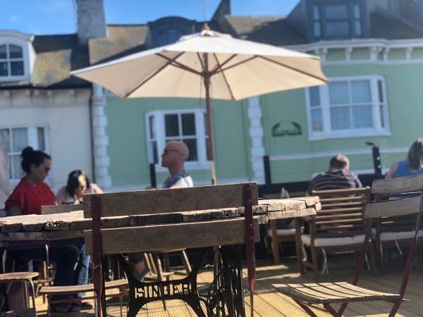 Roof top terraces in Brighton