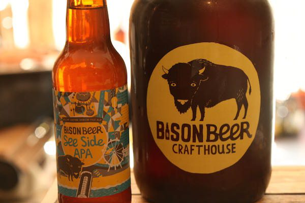 Bison Beer, East Street, Brighton, Video, what is a growler