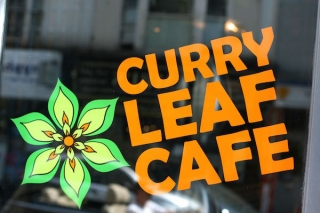 Main page for Curry Leaf Cafe at The Temple bar, Western Road, Brighton