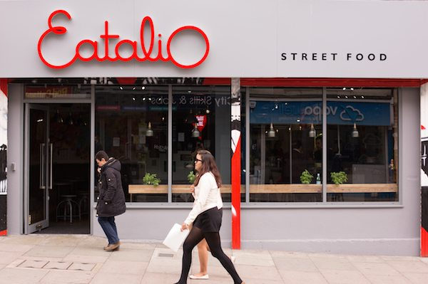 Italian Street Food, Restaurant Brighton, Eatalio, Queens Road
