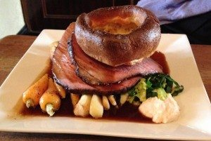 Roast dinner at Lord Nelson, Trafalgar Street, Sunday lunch, The Nelly