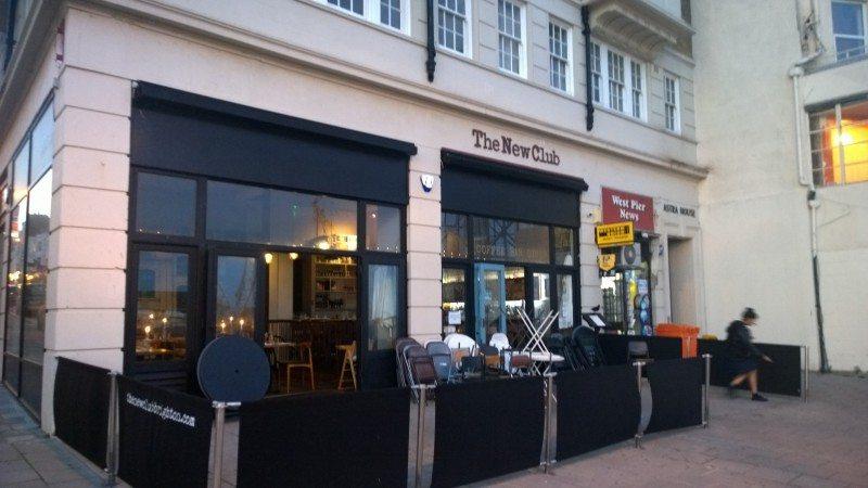 the new club, brighton, gluten free, brighton seafront