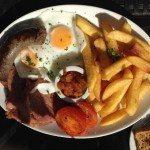 LangeLee's, cafe, courtyard, brighton, review, breakfast, brunch
