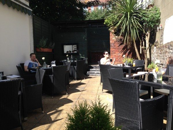 LangeLee's, cafe, courtyard, brighton, review, breakfast, brunch