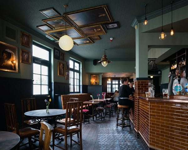 Pubs with fires, inside the pub at The Better Half