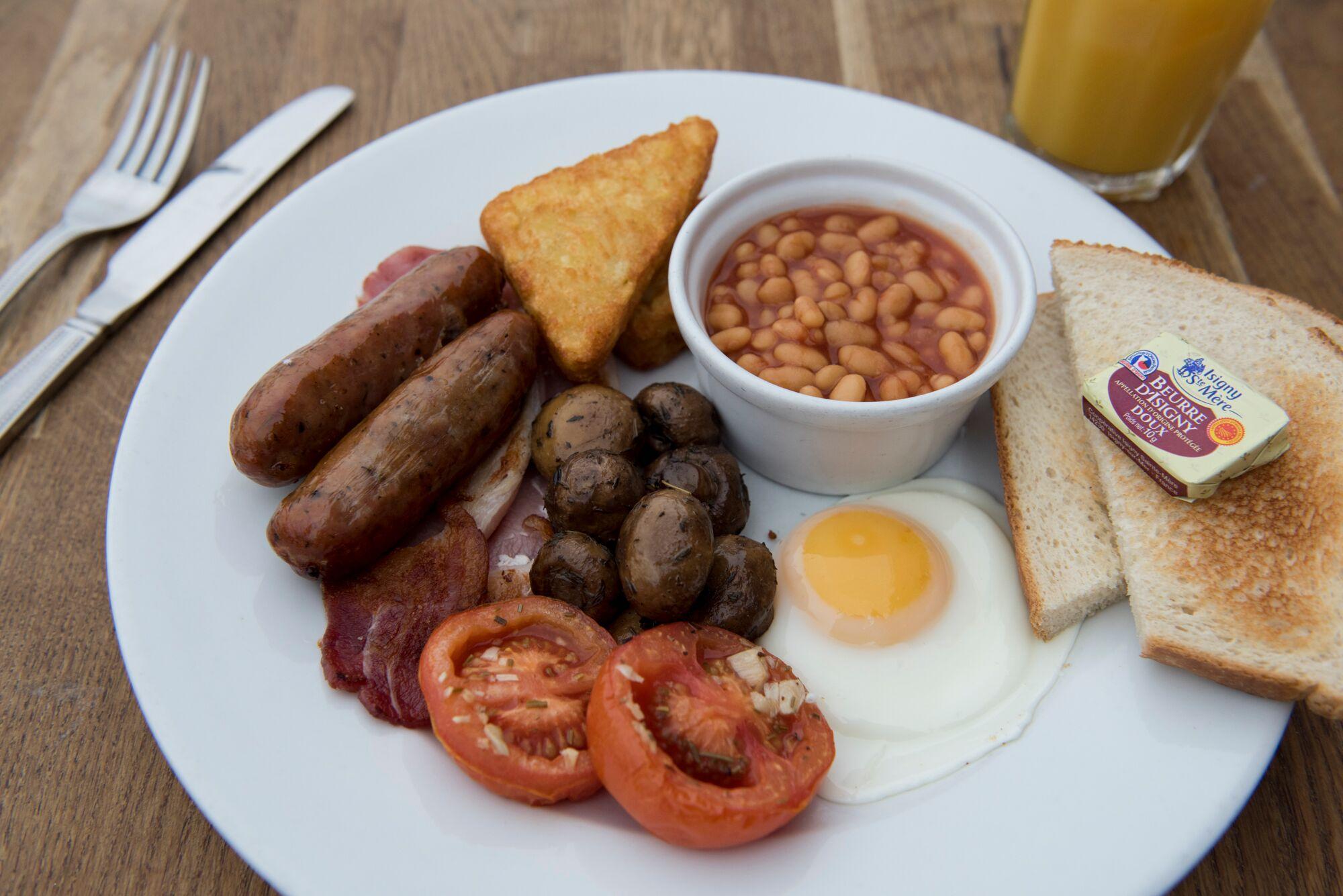 Breakfast at Bucket And Spade Restaurants Brighton