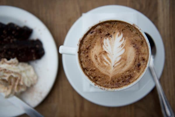 Coffee and cake at Bucket AndSpade Restaurants-Brighton