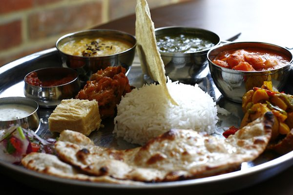 Lunch at Indian Summer, East Street, Brighton, restaurant, curry house, curry for lunch