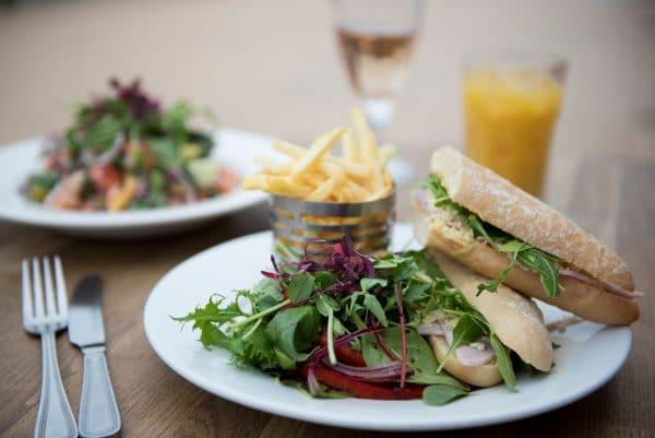 Lunch at Bucket And Spade Restaurants Brighton