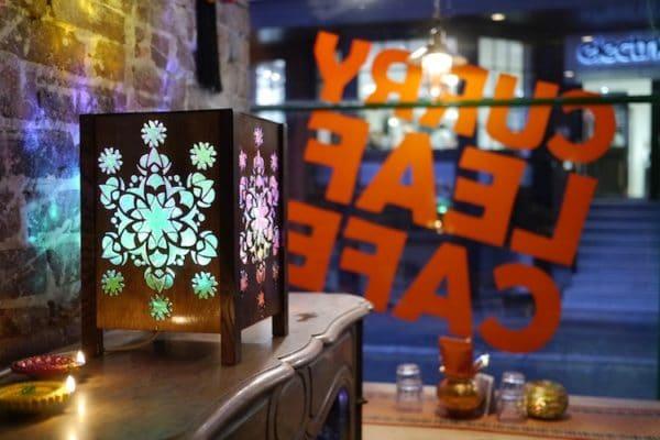 Curry Leaf Cafe Brighton interior