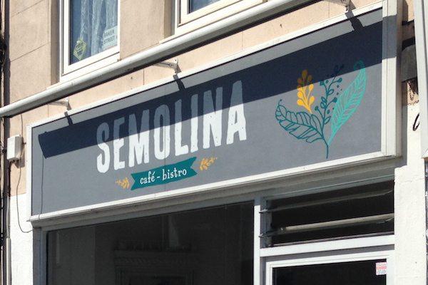 Semolina restaurant, cafe and bistro, London Road, Brighton