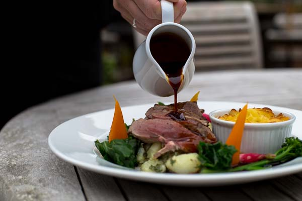 Best Sunday Roasts in Sussex - the Oak Barn in Burgess Hill