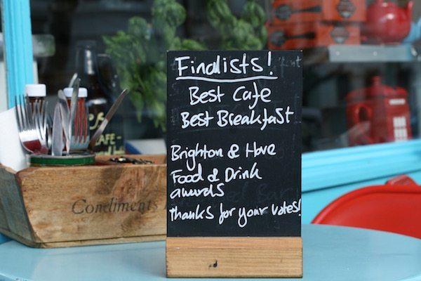 Joe's Cafe, 24 Upper Hamilton Rd, Seven Dials, Brighton, breakfast