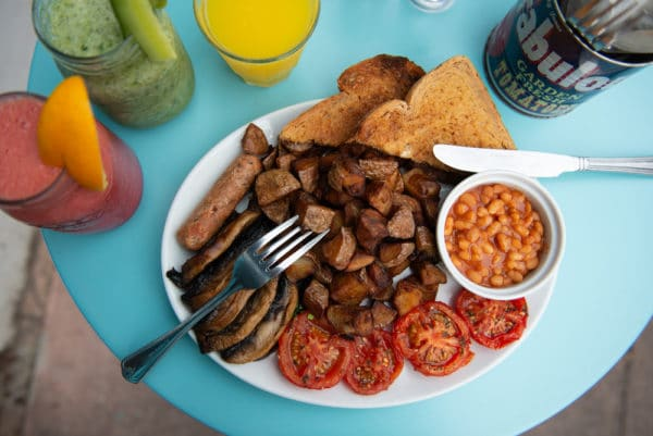 Big Breakfast at Joe's Cafe Brighton