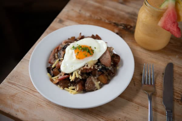 Potato Hash at Joes Cafe Brighton
