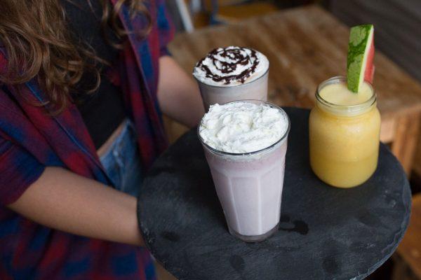 Drinks at Joe's Cafe Restaurants Brighton