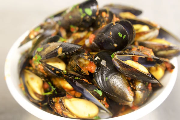 Mussels, how to cook, Brighton, Grand Hotel, Gb1 Restaurant, Alan White