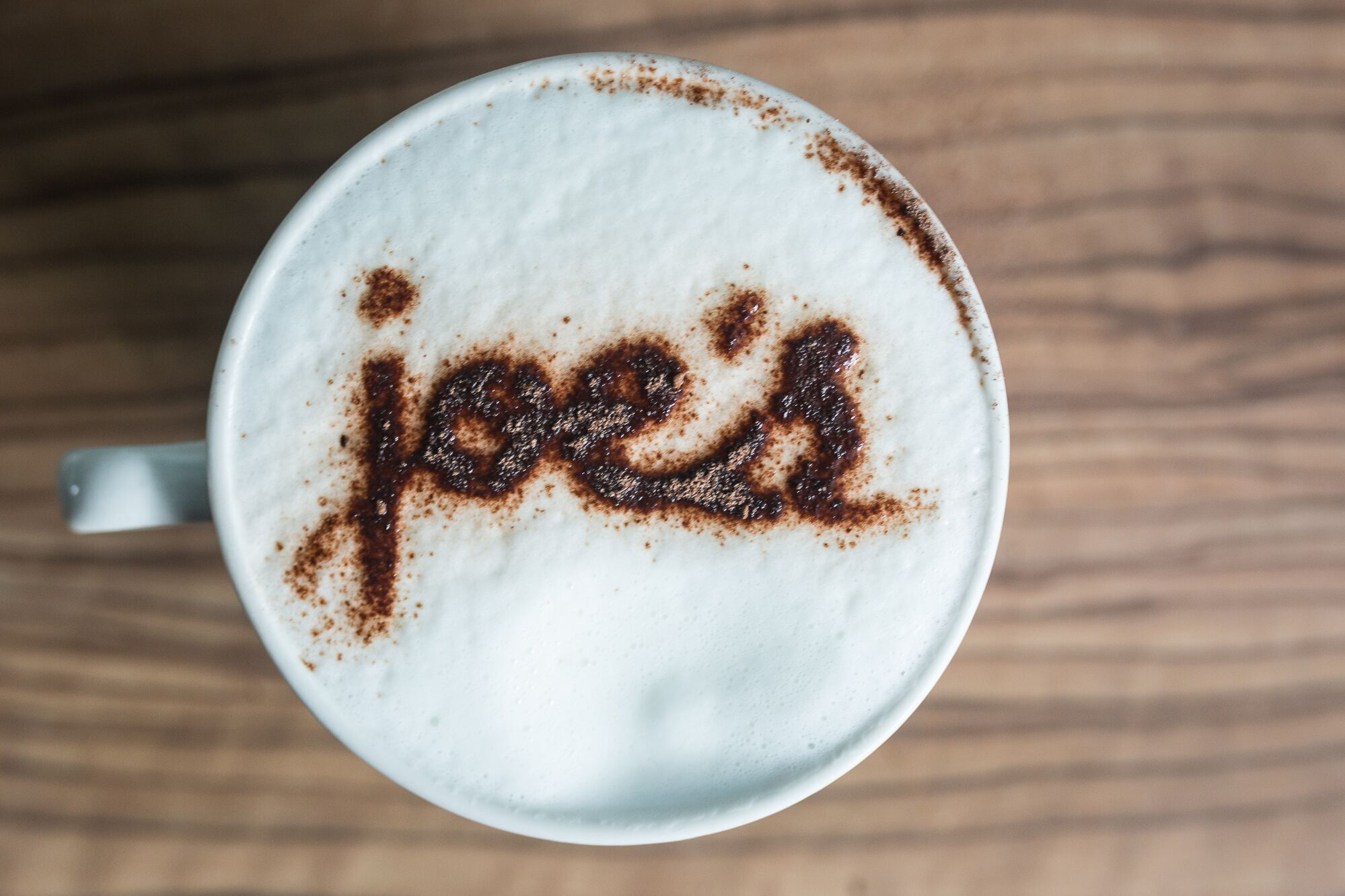 Hot drink at Joe's Cafe Restaurants Brighton