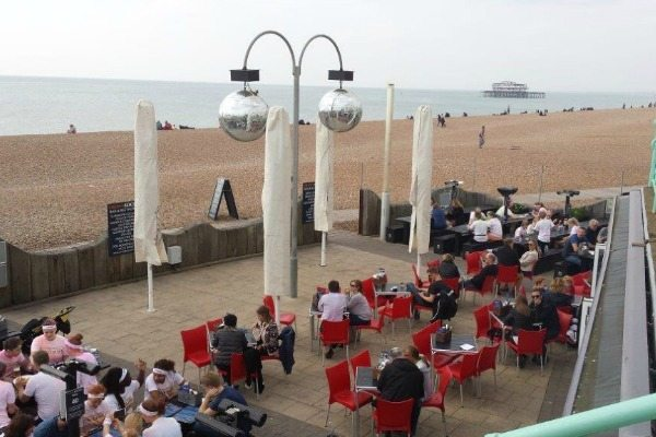 ohso, restaurant, review, fish and ships, brighton seafront, alfresco