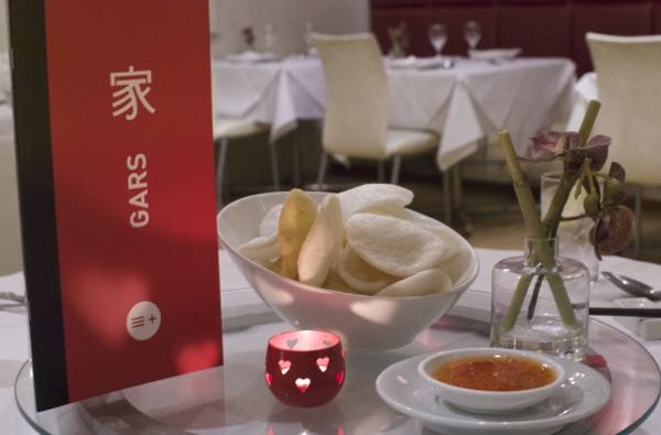 Gars Chinese Restaurant, Brighton, the Lanes, Chinese Fine Dining