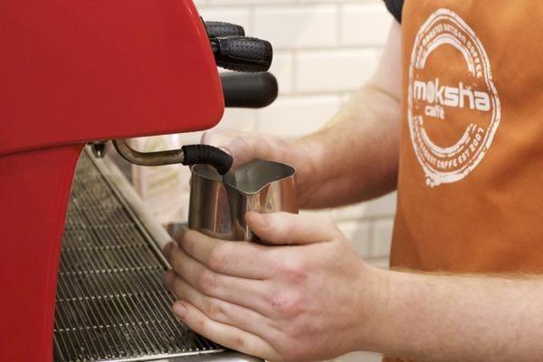 Restaurants Brighton, Moksha Caffe, York Place, Latte Art,