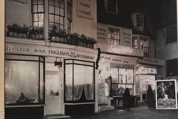 English's is 70, fish restaurant, Brighton, seafood restaurant