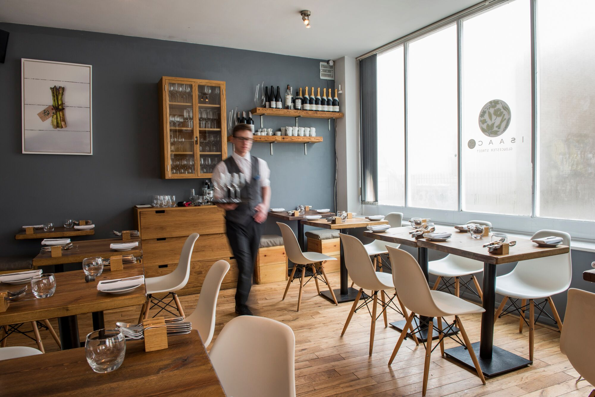 The Interior at Isaac Restaurants Brighton