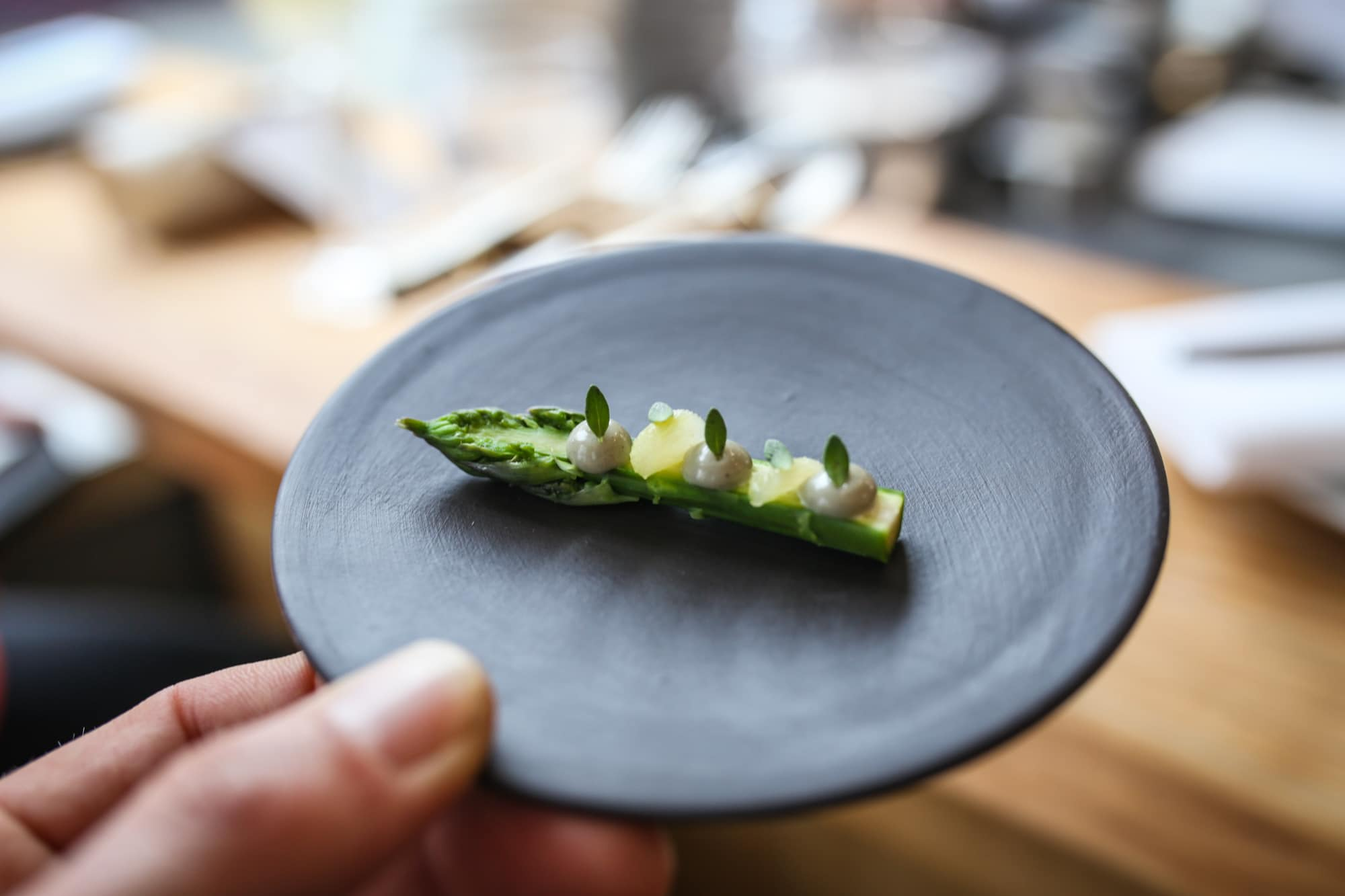 Asparagus Starter Isaac at Food trends 2018