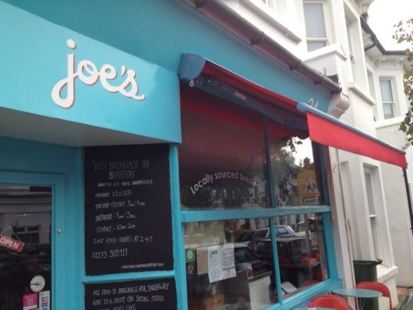joe's cafe, breakfast, review, brunch, seven dials, brighton