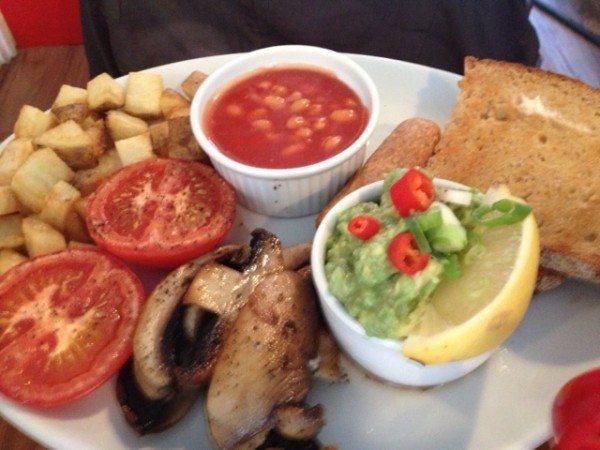 joe's cafe, breakfast, review, brunch, seven dials, brighton
