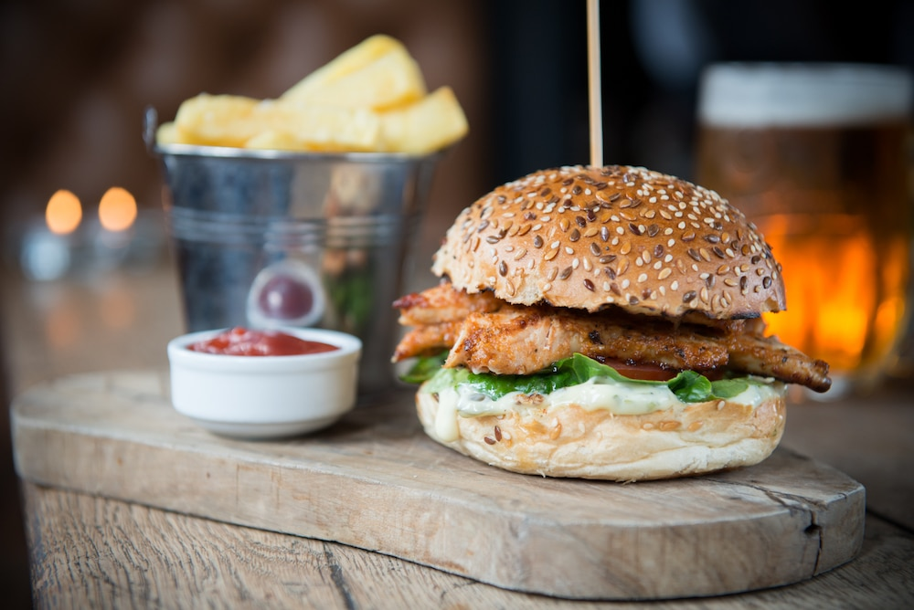Chicken Burger at The Better Half in Hove