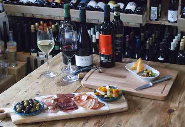 Fourth and Church, wine, deli, Hove