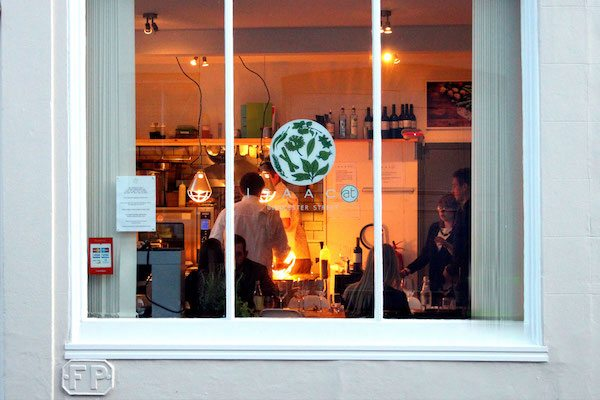 Isaac At, Pop Up Dining, Brighton, fine dining, restaurant
