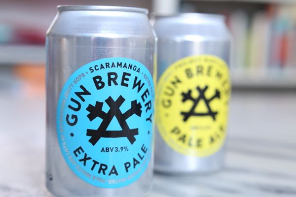 Trend: Beer in cans, Beavertown, Brighton, Gun Brewery, beer blog