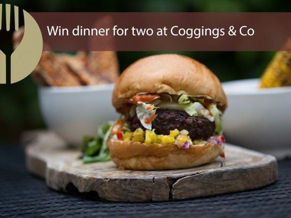 WIN a meal for 2 at Coggings & Co!