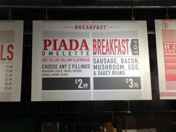 eatalio, queens road, italian street food, breakfast, brighton, review