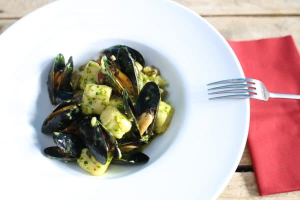 Mussels and Gnocchi