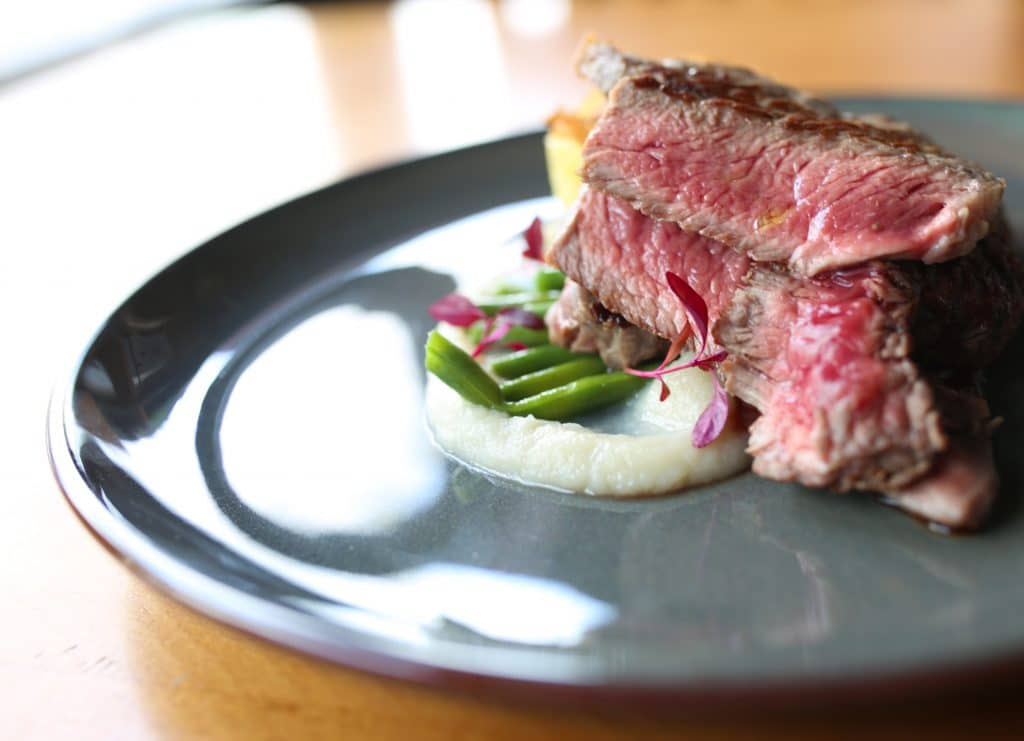 Rib Eye Steak at Edendum - Book a table, make a reservation with a Brighton restaurant