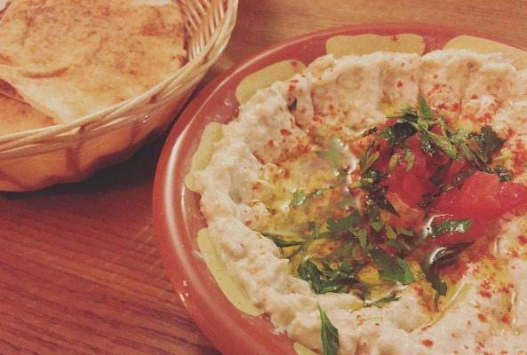 Hummus at Kambis Brighton