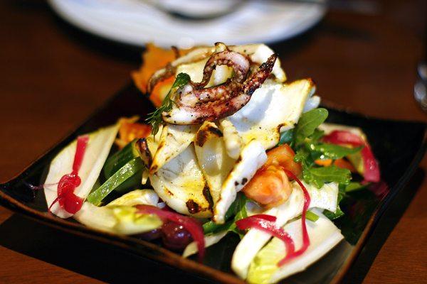 Olive Grove, Mediterranean restaurant | Brighton |Grilled squid