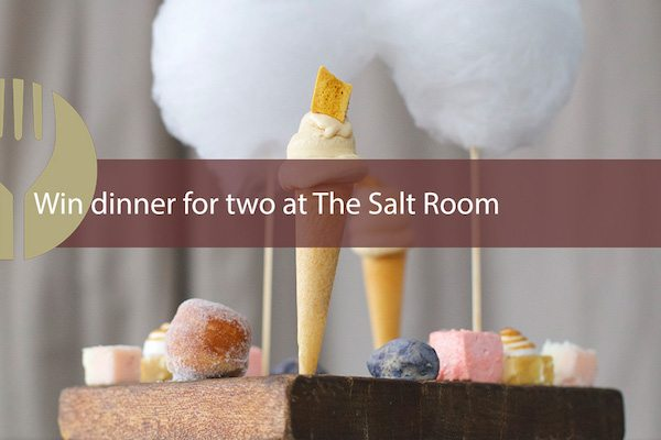 WIN a meal for 2 at The Salt Room