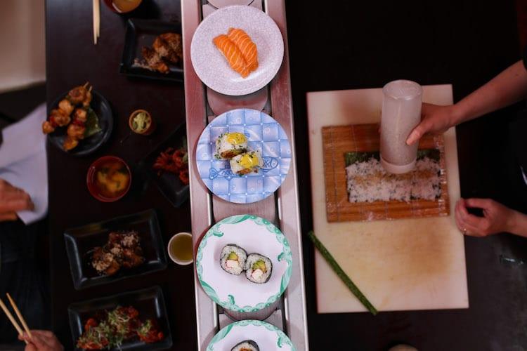 Sushi at Moshimo