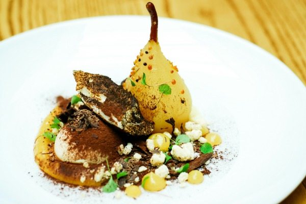 Pear at Terre a Terre, Brighton's Vegetarian fine dining restaurant